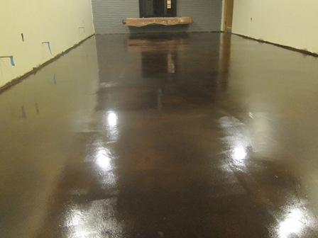 how to clean indoor epoxy floors